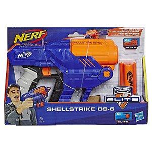 Lançador Nerf N-Strike Elite Shellstrike DS-6 Hasbro E6171