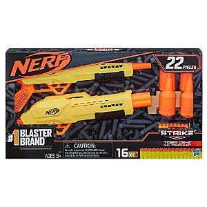Lançador Nerf Alpha Strike Tiger DB-2 Target da Hasbro E8313