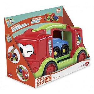Brinquedo Educativo Caminhão Transcar Baby Dismat MK244