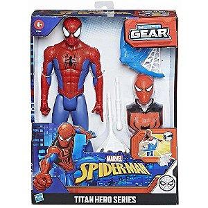 Boneco Marvel Spider Man Titan Hero Blast Gear Hasbro E7344