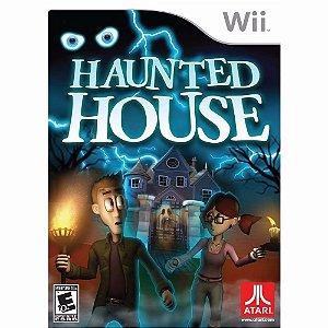 Jogo Haunted House Para Nintendo Wii Lacrado E Original