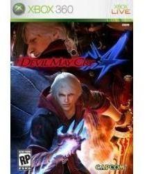 Jogo Americano Lacrado Capcom Devil May Cry 4 Para Xbox 360