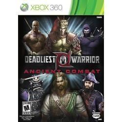 Jogo Ntsc Lacrado Deadliest Warrior Ancient Combat Xbox 360