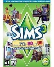 Jogo Lacrado Novo The Sims 3 Anos 70, 80 E 90 Para Pc E Mac