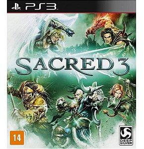 Jogo Novo Lacrado Sacred 3 Para Playstation 3 Ps3