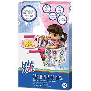 Brinquedo Baby Alive Cadeirinha de Refeiçao da Hasbro 10002