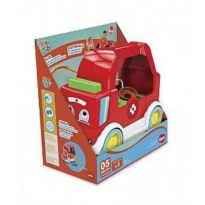 Brinquedo Educativo Ambulância Doctor Kid Dismat MK337