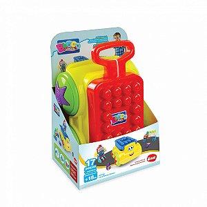 Brinquedo Educativo Maleta Leva Blocos Original Dismat MK359
