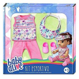 Brinquedo Baby Alive Acessorios Kit Esportivo Hasbro 10001
