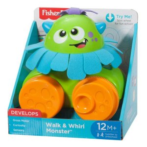 Brinquedo Fisher Infant Monstro que Anda Fisher Price Fhg01