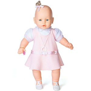 Brinquedo Boneca Meu Bebe Veste Rosa Original Estrela