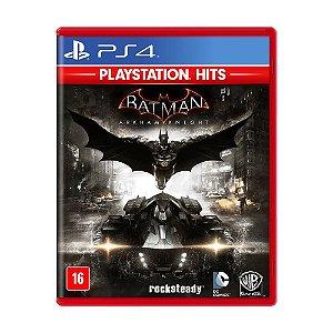 Jogo Mídia Física Nacional Batman Arkham Knight Para Ps4