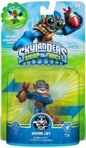 Boneco Skylanders Swap Force Boom Jet