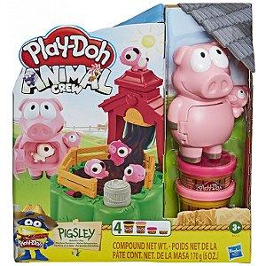 Massinha Play Doh Farm Conjunto do Porquinho Hasbro E6723