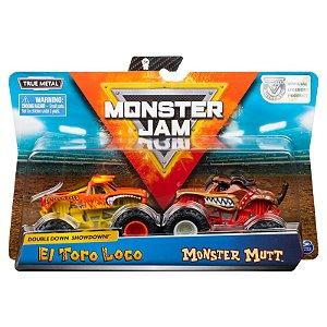 Veiculo Monster Jam Pack com 2 Monster Trucks Sortidos 2020