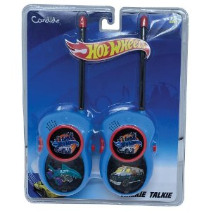 Brinquedo Walkie Talkie Infantil Hot Wheels da Candide 4524
