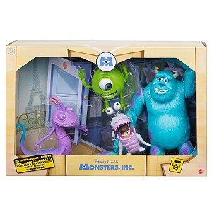 Brinquedo Bonecos Conjunto Pixar Monstros S.A. Disney GMD17