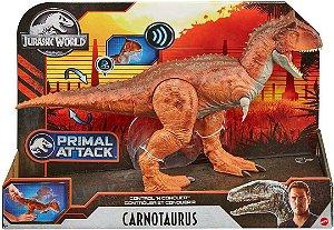 Dinossauro Jurassic World Carnotauro Controle d Ataque GJT59