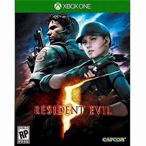 Jogo Mídia Física Lacrado Resident Evil 5 Para Xbox One