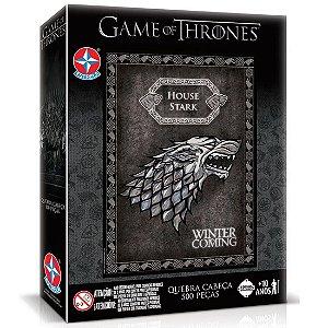 Quebra Cabeça Game Of Thrones Stark de 500 Peças da Estrela