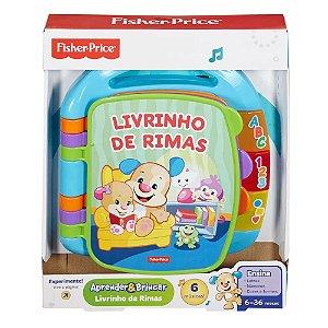 Brinquedo Educativo Livro De Rimas Fisher Prince Cdh62