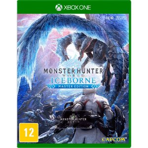 Jogo Novo Midia Fisica Monster Hunter Iceborne para Xbox One