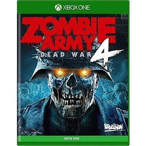 Jogo Midia Fisica Zombie Army 4 Dead War Novo para Xbox One