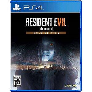 Jogo Novo Midia Fisica Resident Evil 7 Gold Edition para Ps4