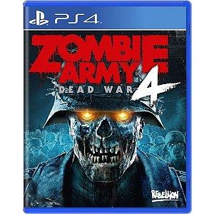 Jogo Midia Fisica Zombie Army 4 Dead War Lacrado para Ps4