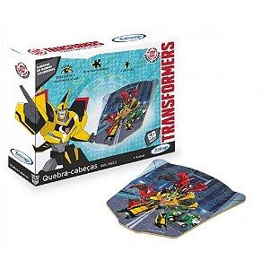 Novo Quebra Cabeça Transformers 60 Peças 2423.2 Xalingo