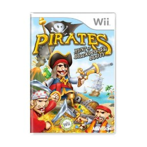 Jogo Lacrado Pirates Hunt for Blackbeards Booty Nintendo Wii