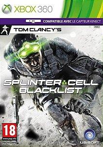 Jogo Tom Clancy's Splinter Cell: Blacklist Para Xbox 360
