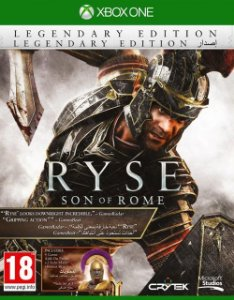 Jogo Mídai Física Ryse Son Of Rome Legendaria Para Xbox One