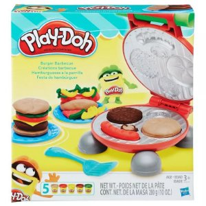 Play Doh Kitchen Creations Festa Dos Hamburguers B5521