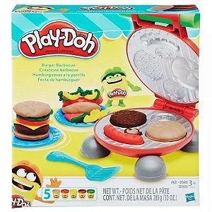 Play Doh Kitchen Creations Festa Dos Hamburguers B5521