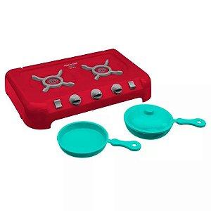 Brinquedo Master Chef Junior Cook Top Original Candide