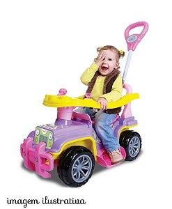 Velotrol Brinquedo Maral Mini Veículo Infantil Jipe Menina