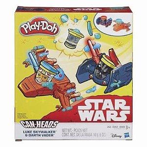 Briquendo Play Doh Star Wars Luke E Darth Vader B2525