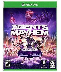 Jogo Mídia Física Agents Mayhem Original Para Xbox One