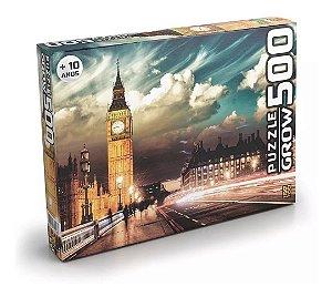 Novo Quebra Cabeça Puzzle 500 Peças Londres Original Grow