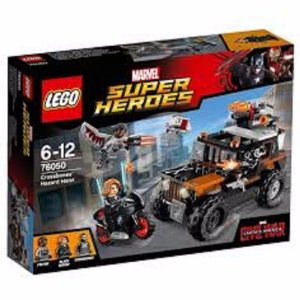 Brinquedo Lego Marvel Heroes Crossbones Hazard Heist 76050
