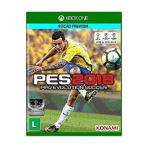 Jogo Mídia Física Pro Evolution Soccer 2018 Pes Xbox One