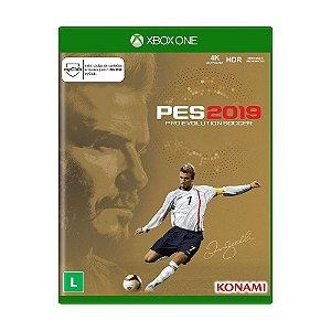 Jogo Mídia Física Pes 2019 David Beckham Edition Xbox One