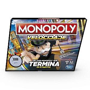 Brinquedo Jogo De Tabuleiro Monopoly Speed Hasbro E7033