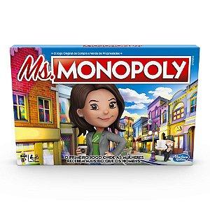 Brinquedo Jogo De Tabuleiro Senhora Monopoly Hasbro E8424