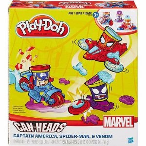 Novo Lacrado Conjunto Play Doh Marvel Veículo Hasbro B0606