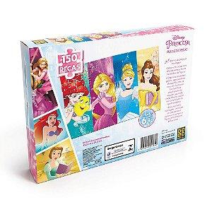 Novo Quebra Cabeça Puzzle 150 Peças Princesas