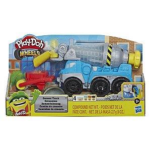Brinquedo Massinha Play Doh Caminhão de Cimento Hasbro E6891