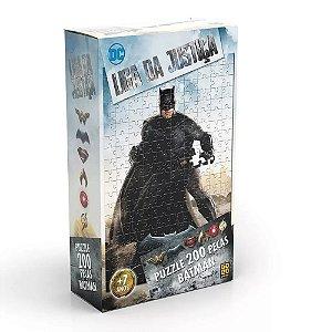 Quebra-cabeça Grow 200 Peças Batman Liga Da Justiça 03528