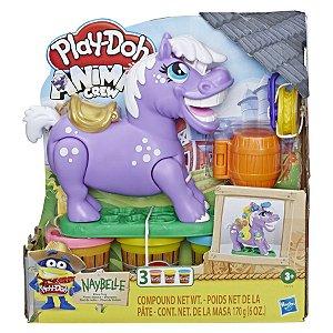 Brinquedo Massinha Play Doh Farm Pônei de Rodeio E6726